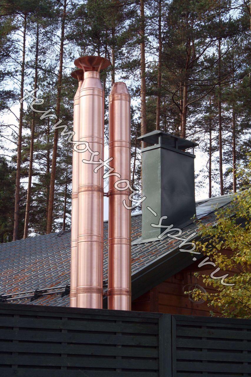 Дымоходы медные какой дымоход установить в баню